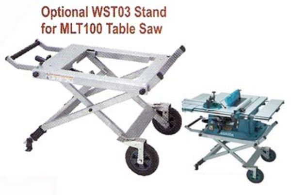 Picture of MAKITA WST03 STAND ONLY MLT100 TABLE SAW