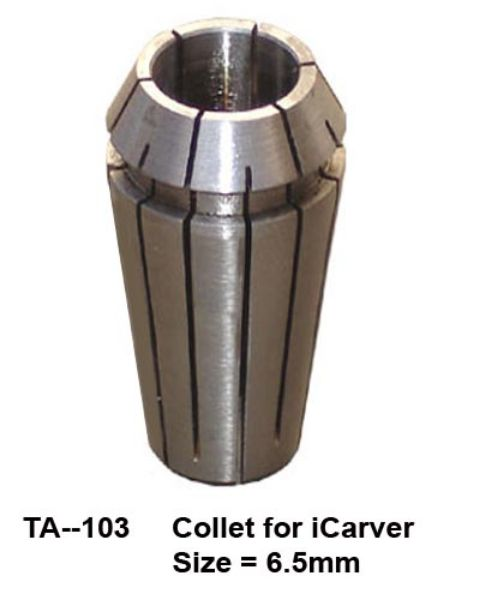 Picture of Collet 6.35mm foriCarver 1318