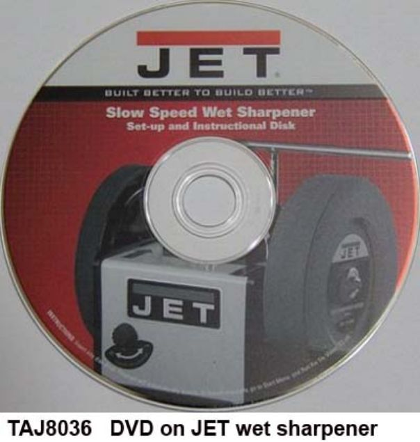 Picture of JET WET STONE SHARPENER DVD WET SHARPENING