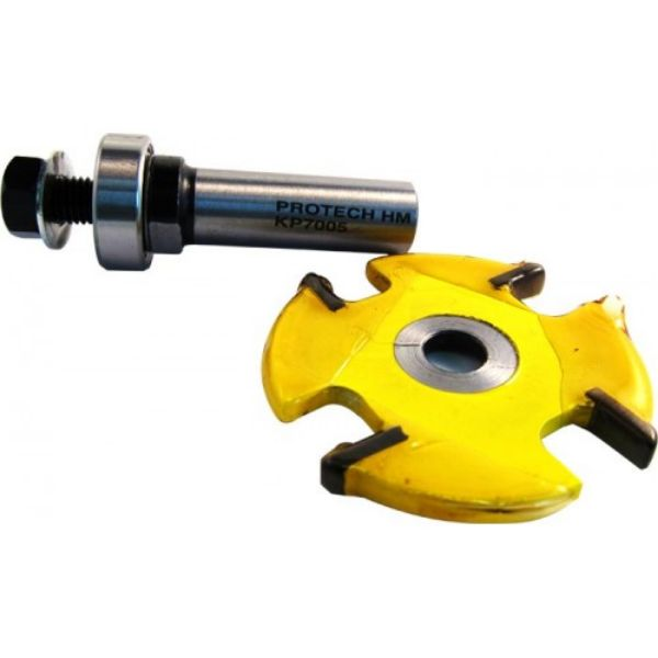 """Picture of BISCUIT SLOT CUTTER- FOUR FLUTE 4MM THICK - SHANK: 1/2"""""""