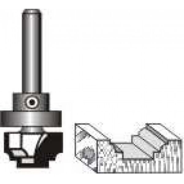 """Picture of CLASSICAL WITH TOP BEARING 3/4"""" DIAMETER x 1/2"""" DEEP - SHANK: 1/2"""""""
