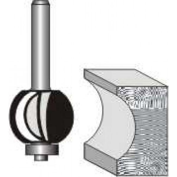 "Picture of INTERNAL BULL NOSE 7/8 DIAMETER x 1"" HIGH - SHANK: 1/2"""