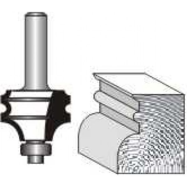 """Picture of MULTI-MOULD 1 1/4 """" WIDE x 23MM HIGH - SHANK: 1/4"""""""