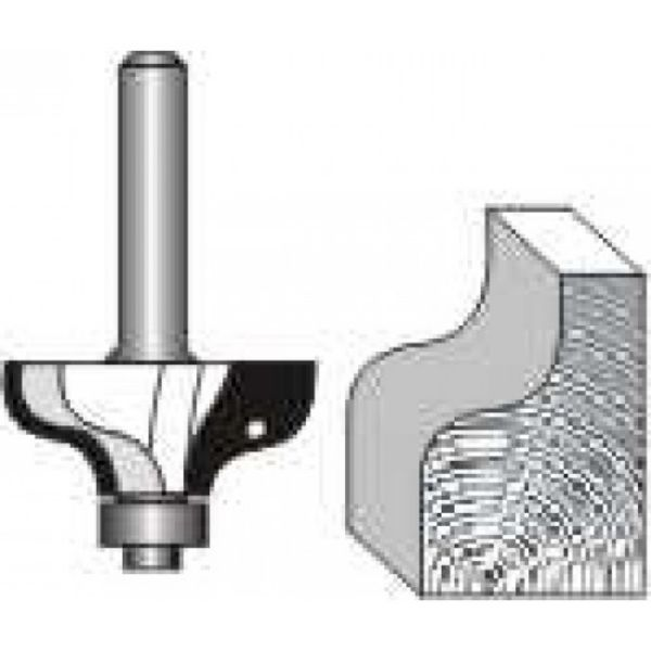 """Picture of OGEE  1/4"""" RADIUS - SHANK: 1/4"""""""