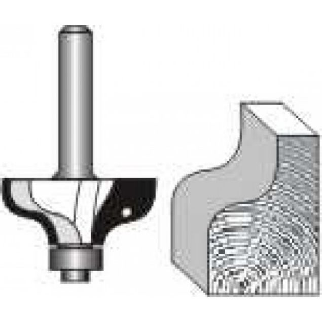 "Picture of OGEE  1/4"" RADIUS - SHANK: 1/4"""