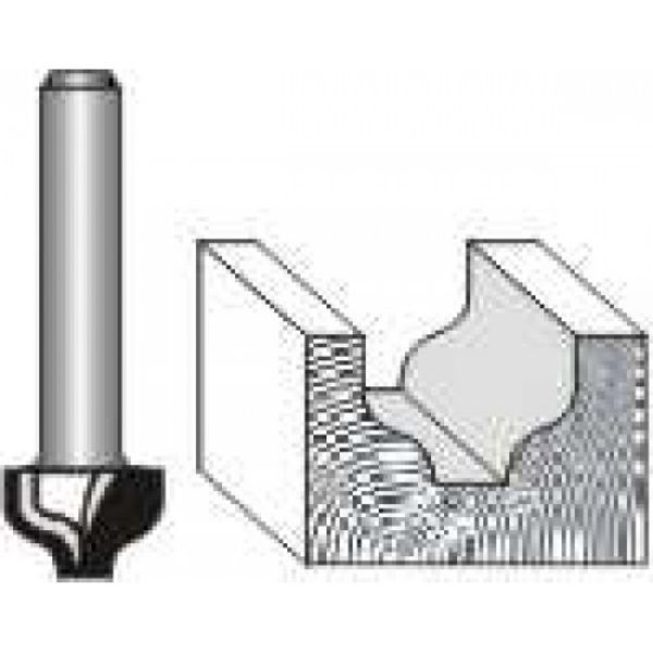 """Picture of OGEE PLUNGE CUTTING 3/8"""" WIDE x 3/8 """" DEEP - SHANK: 1/4"""""""
