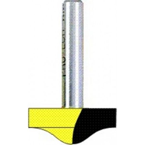 """Picture of PANEL MOULD - ROUND AND OGEE 1"""" WIDE x 1/2"""" DEEP SHANK: 1/2"""""""