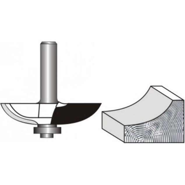 "Picture of PANEL RAISER -COVE 4MM DIAMETER x 13.5 DEEP - SHANK: 1/4"""