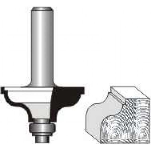 """Picture of QUIRK TOPPED OGEE 1/4""""RADIUS - SHANK: 1/4"""""""