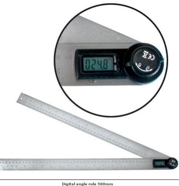 TREND 500 MM RULER DIGITAL ANGLE - SOUTH AFRICA