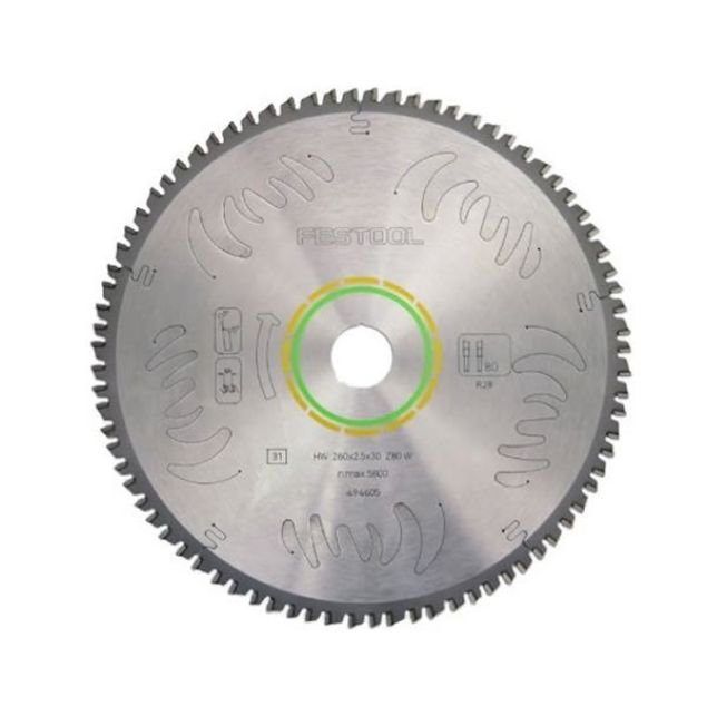 Picture of FESTOOL HW190X2.8X30 TF68 SAW BLADE