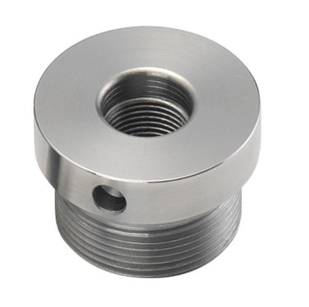 """Picture of RECORD 1 X 8"""" TPI UNC LH & RH DUAL THREADED ADAPTOR"""