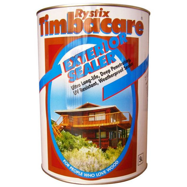 Rystix Light Yellow Exterior Timber Sealer 1L