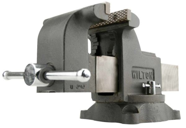 """Picture of WILTON 4"""" MECHANICS SHOP VICE WITH SWIVEL BASE"""