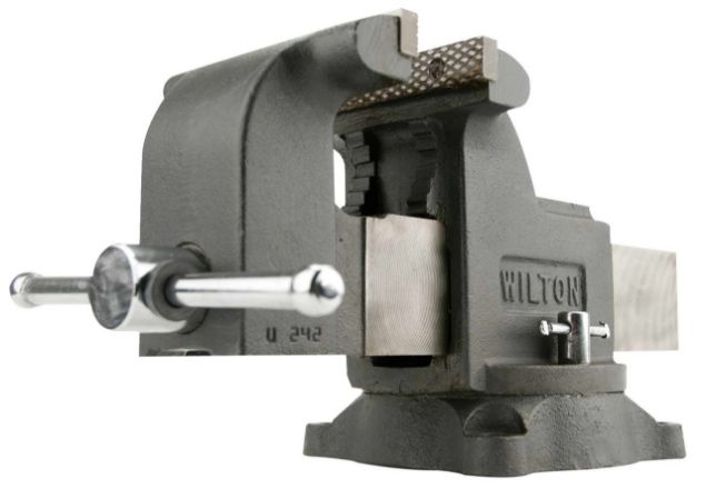 "Picture of WILTON 5"" MECHANICS SHOP VICE WITH SWIVEL BASE"