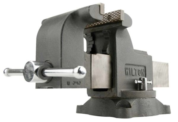 """Picture of WILTON 6"""" MECHANICS SHOP VICE WITH SWIVEL BASE"""