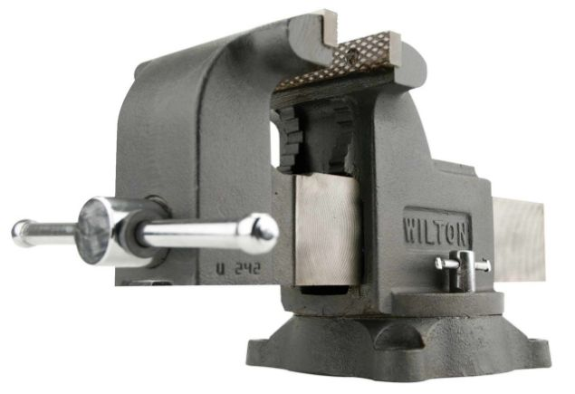 "Picture of WILTON 8"" MECHANICS SHOP VICE WITH SWIVEL BASE"