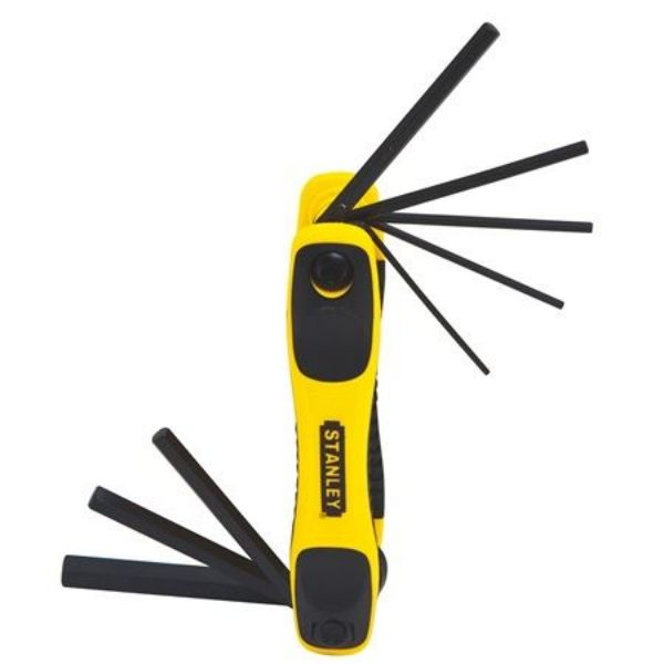Picture of STANLEY 8PC FOLDING HEX KEY SET