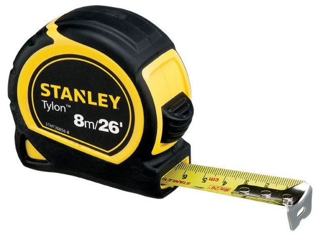 STANLEY 8M/26FT TYLON TAPE MEASURE SOUTH AFRICA