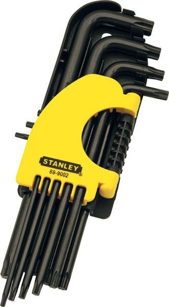 STANLEY TORX KEY SETS - LONG SOUTH AFRICA