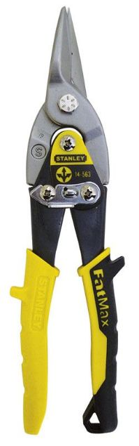 STANLEY 250MM MAXSTEEL AVIATION SNIPS STRAIGHT AND LONG CUT SOUTH AFRICA