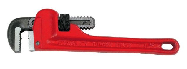 Picture of STANLEY 10 INCH PIPE WRENCH
