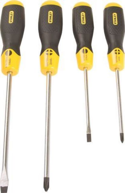 STANLEY 4 PIECE CUSHIONED GRIP SCREWDRIVER SET SOUTH AFRICA