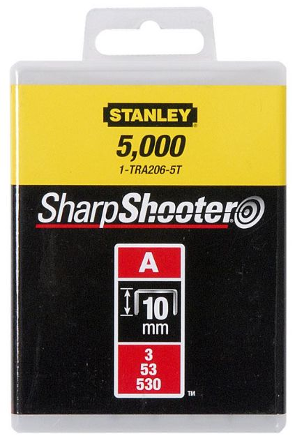Picture of STANLEY 10MM TYPE A LIGHT DUTY STAPLES