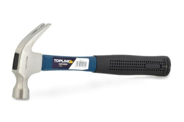 TOPLINE CLAW HAMMER FIBREGLASS 450G BUY NOW