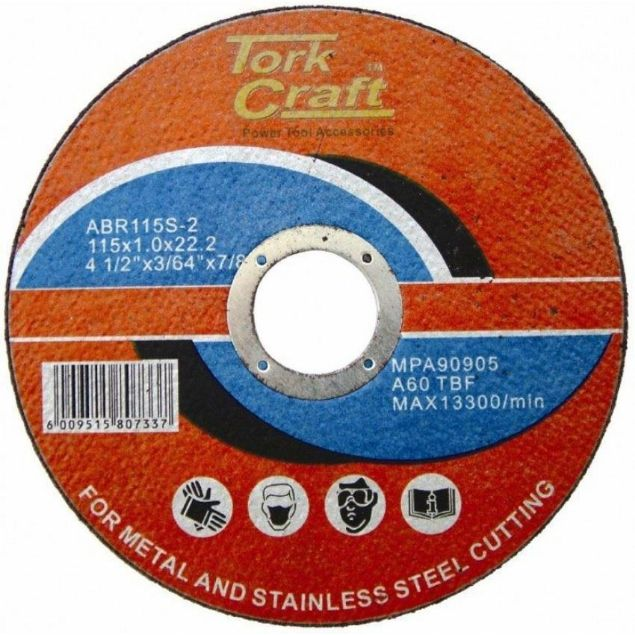 Picture of TORK CRAFT 115MM  STEEL CUTTING DISC