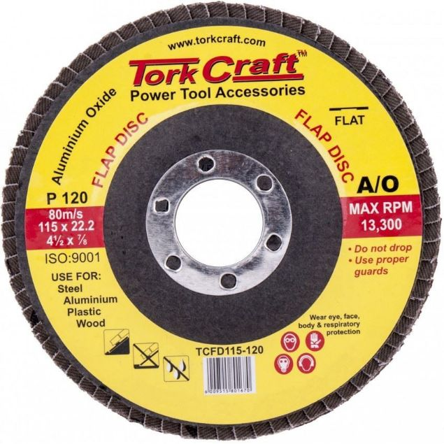 Picture of TCRAFT SANDING FLAP DISC 115MM P120