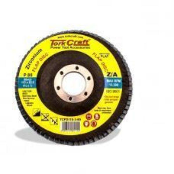 FLAP SANDING DISC 115MM P80 SOUTH AFRICA