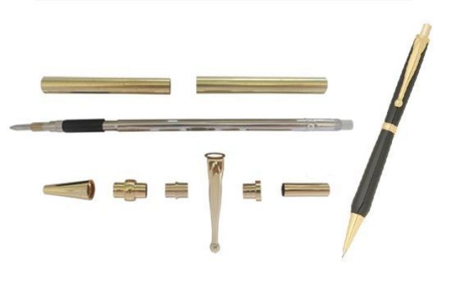 Picture of TOOLMATE FANCY SLIMLINE GOLD PENCIL KIT