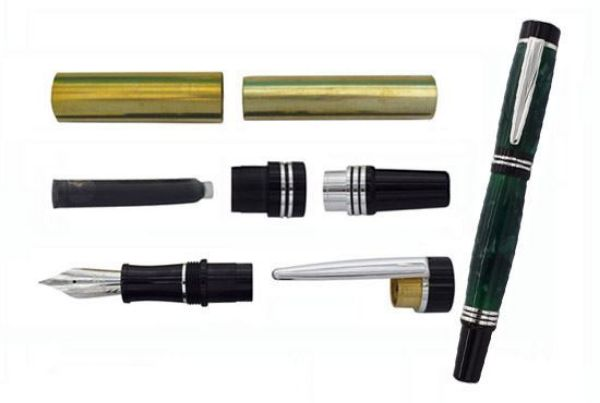 Toolmate Noble Fountain Silver Pen Kit