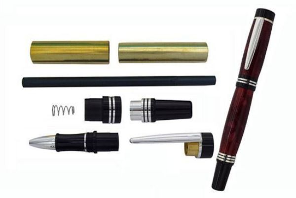Picture of TOOLMATE NOBLE ROLLER BALL SILVER PEN KIT