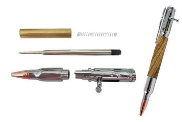 Picture of TOOLMATE RIFLE BOLT ACTION CHROME PEN KIT