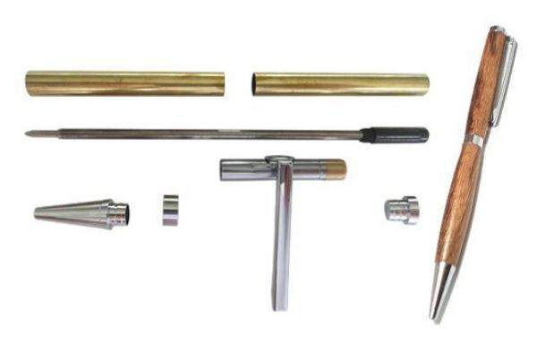 Picture of TOOLMATE SLIMLINE CHROME PEN KIT