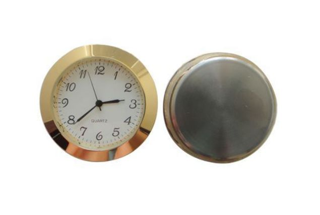 Picture of TOOLMATE CLOCK INSERT 50MM GOLD (HOLE SIZE 46.4 X 6MM DEEP)