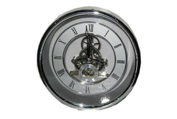 Picture of TOOLMATE SKELETON SILVER CLOCK 155MM DIAL
