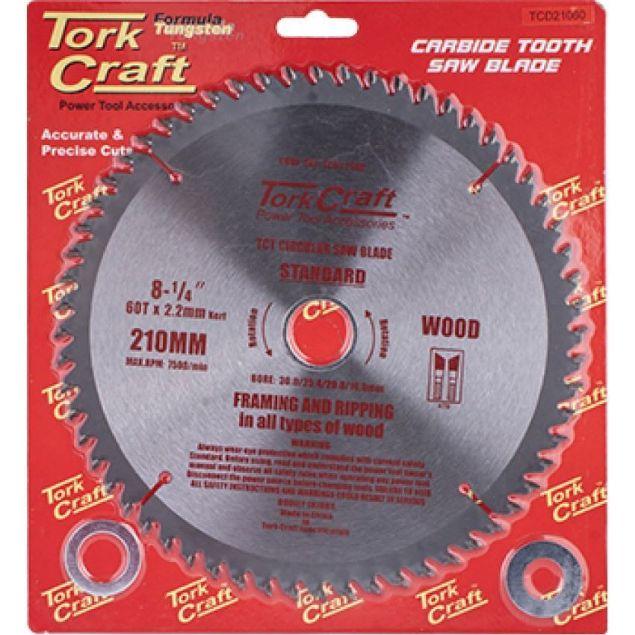 TORK CRAFT BLADE CARBIDE 2.2MM X 210MM X 60T SOUTH AFRICA