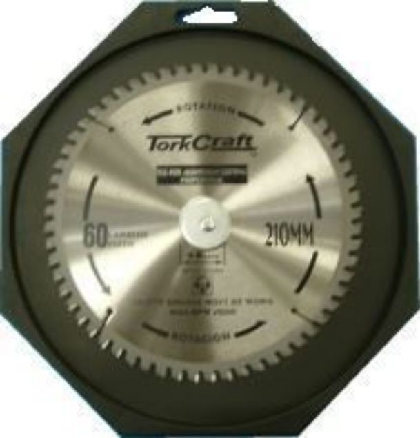 TORK CRAFT BLADE CONTRACTOR ALUM 210 X 60T SOUTH AFRICA