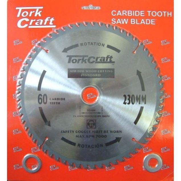 TORK CRAFT BLADE SAW CONTRACTOR 230 X 30 X 60T SOUTH AFRICA