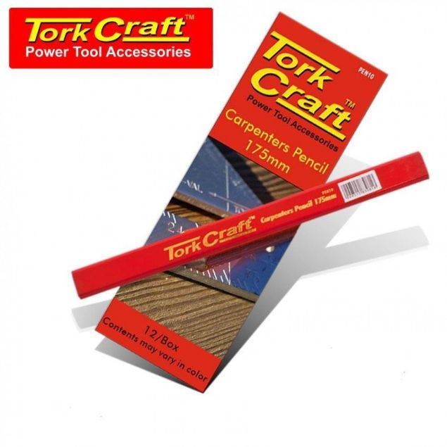 TORK CRAFT CARPENTERS PENCIL SET 175MM SOUTH AFRICA