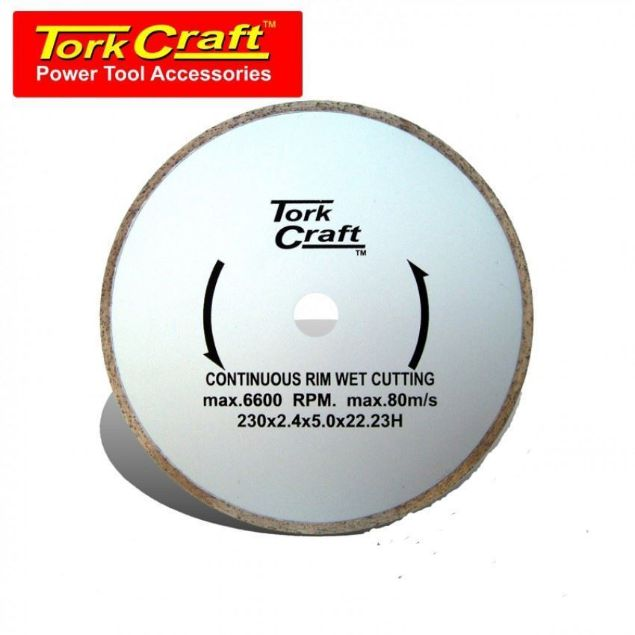 TORK CRAFT BLADE DIAMONT CONTINOUS RIM 230MM SOUTH AFRICA