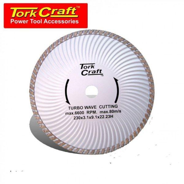 TORK CRAFT BLADE DIAMOND TURBO 230MM SOUTH AFRICA