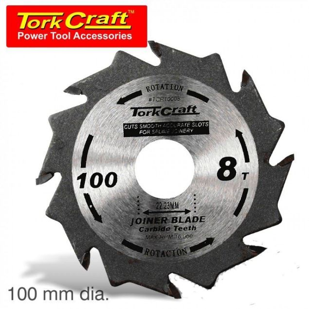 Picture of TORK CRAFT BLADE FOR BISCUIT JOINER 100 X 8T