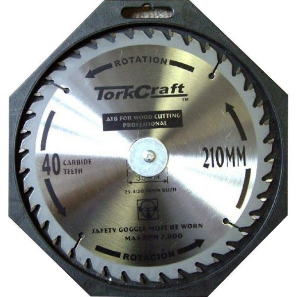 TORK CRAFT BLADE CONTRACTOR 210 X 40T SOUTH AFRICA