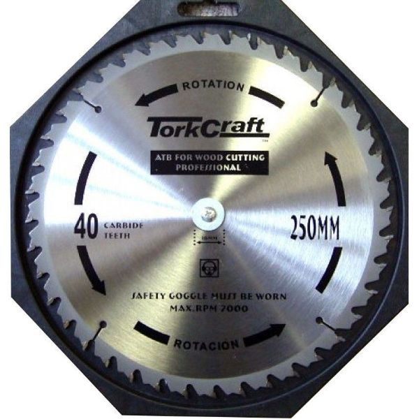 TORK CRAFT BLADE CONTRACTOR 250MM X 40T SOUTH AFRICA