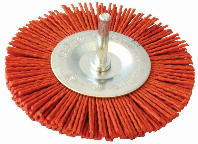 Picture of TORK CRAFT BRUSH NYLON WHEEL TCW 6 X 100MM