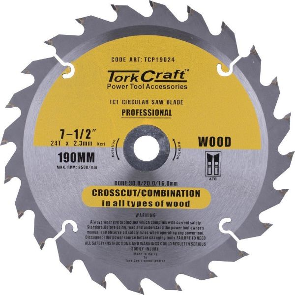 TORK CRAFT BLADE CONTRACTOR 30/20/16/1 24T SOUTH AFRICA